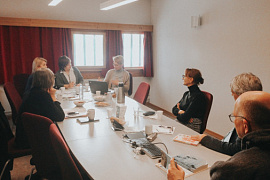 Cooperation for the benefit of the Arctic people: MASU delegation visited the Arctic University of Norway
